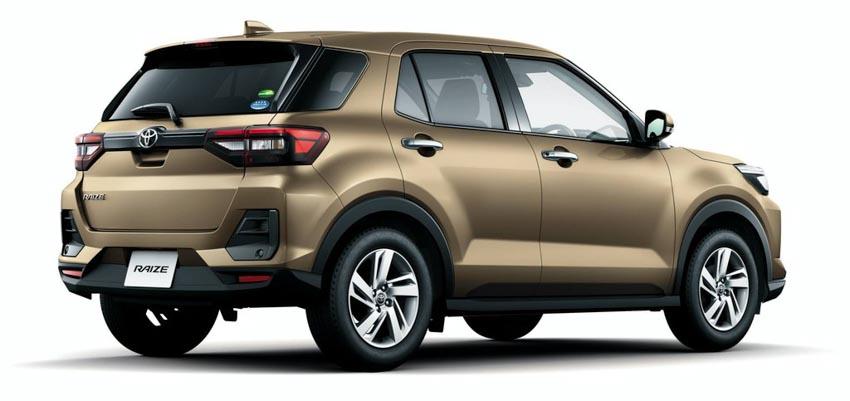 Ra mắt Toyota Raize 2020 cạnh tranh Ford EcoSport -2