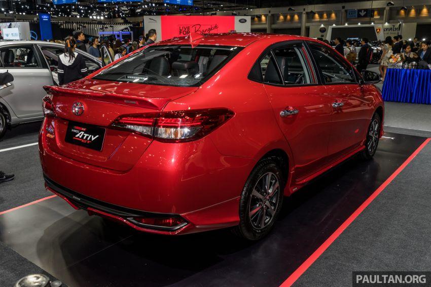 Toyota Vios (Yaris Ativ) máy 1.2L VVT-iE mới ra mắt tại Thái Lan - 2