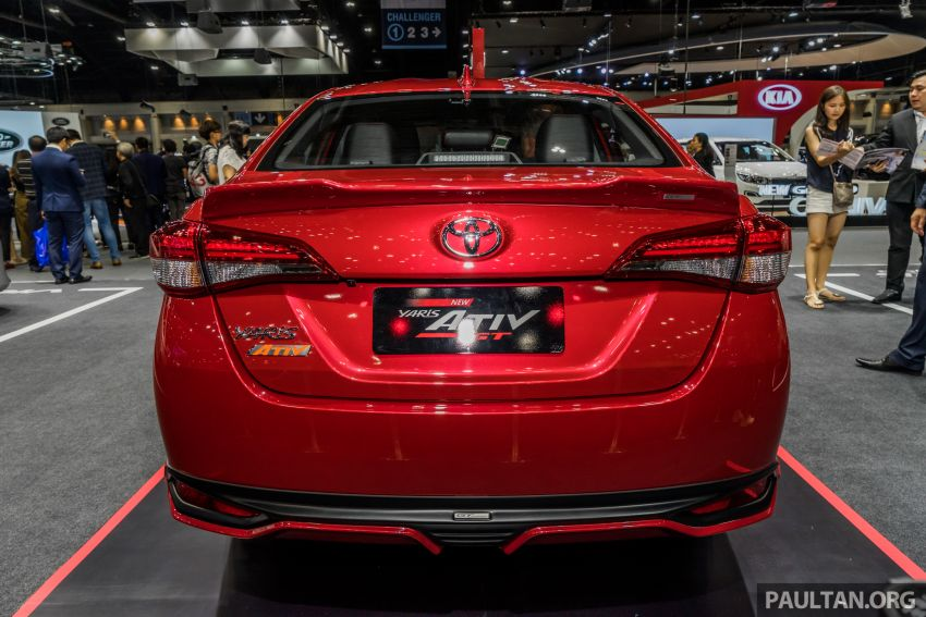 Toyota Vios (Yaris Ativ) máy 1.2L VVT-iE mới ra mắt tại Thái Lan - 5