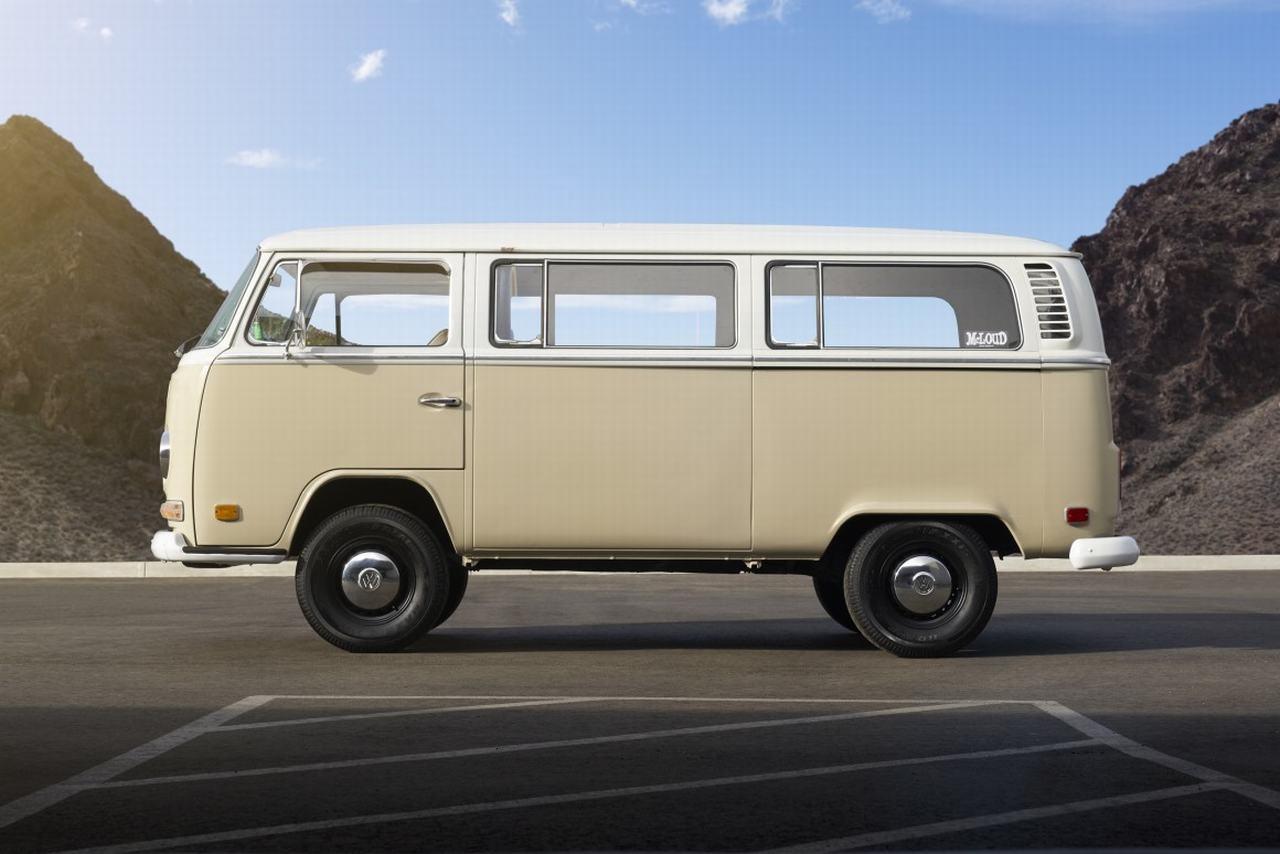 Volkswagen Type 2 đời 1972 được phục chế thành xe điện - 5