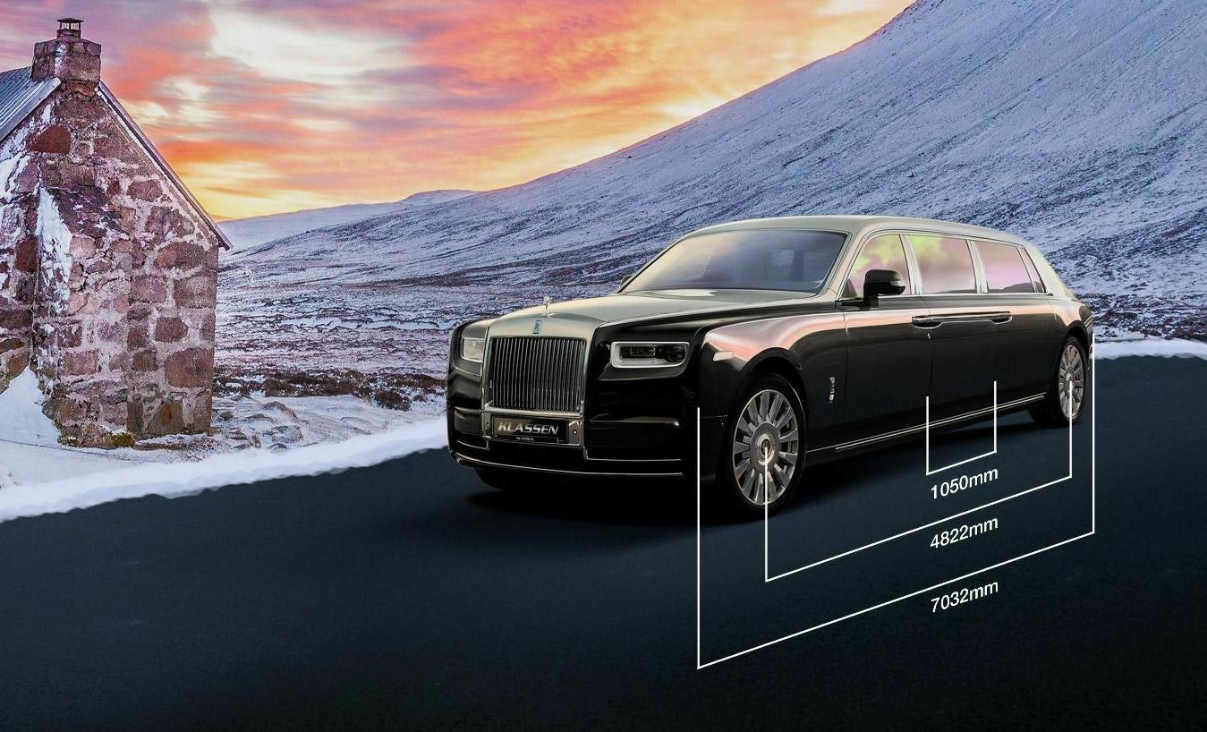 Rolls-Royce Phantom VIII qua bàn tay hãng độ Klassen với mức giá lên đến 3,3 triệu USD - 4