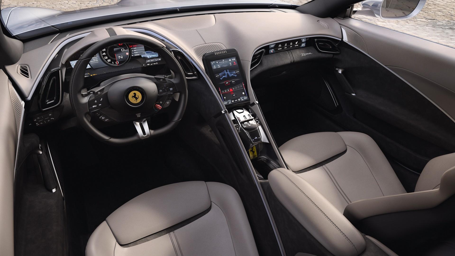 Ferrari công bố chi tiết siêu xe Grand Tourer Roma 612 HP mới - 10