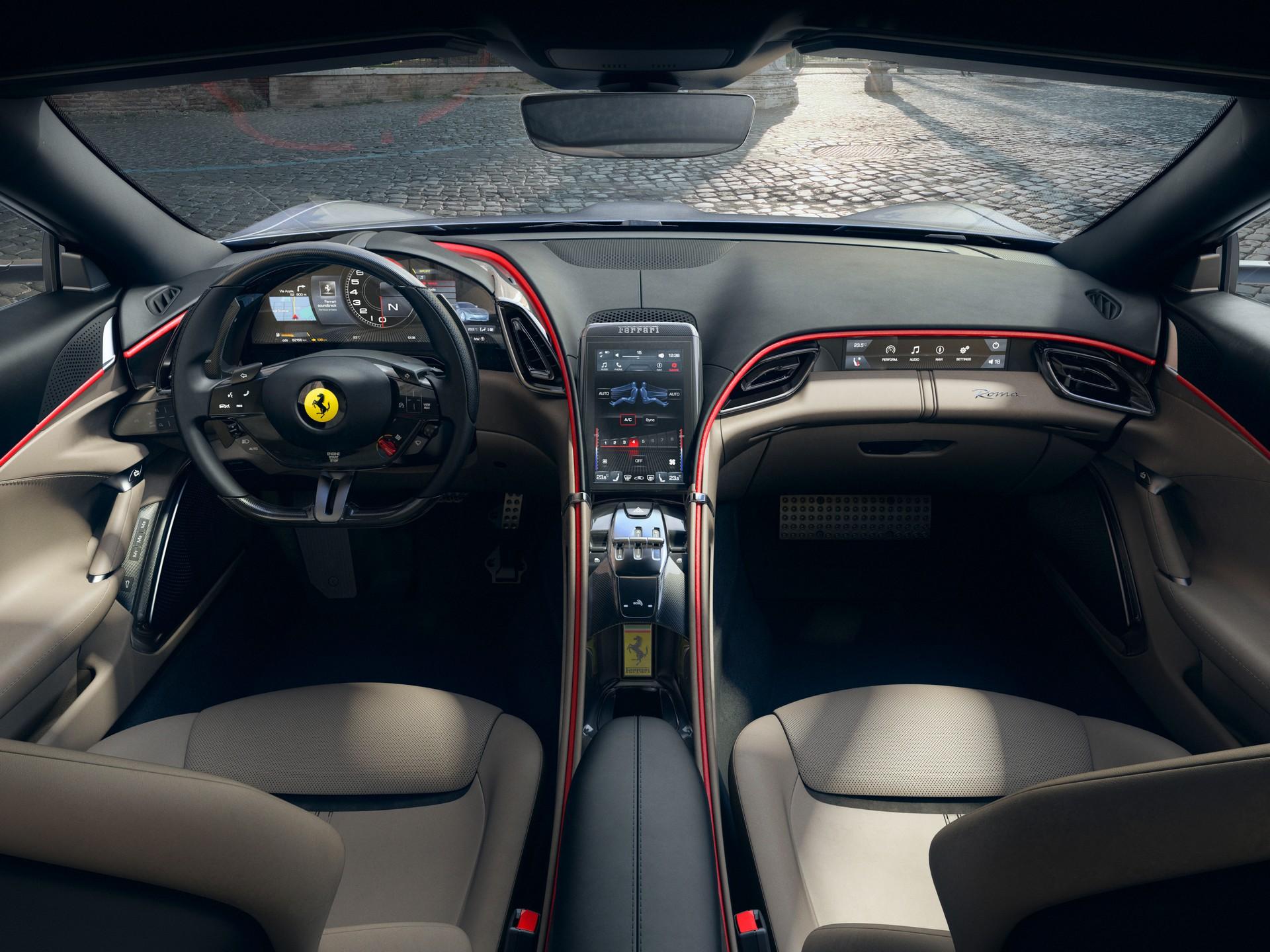 Ferrari công bố chi tiết siêu xe Grand Tourer Roma 612 HP mới - 11