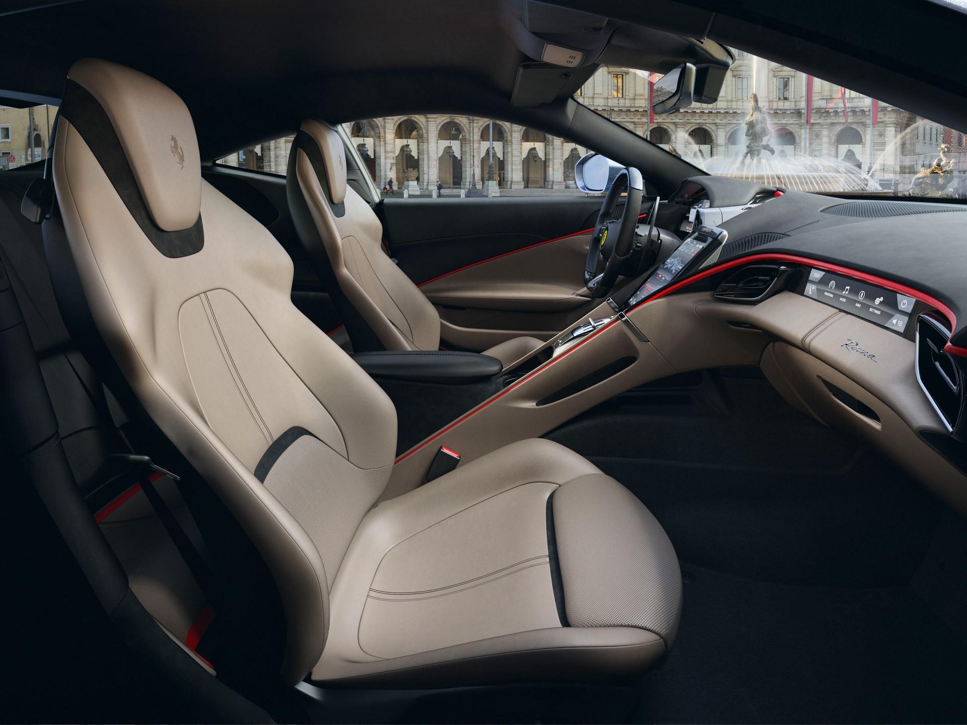 Ferrari công bố chi tiết siêu xe Grand Tourer Roma 612 HP mới - 3