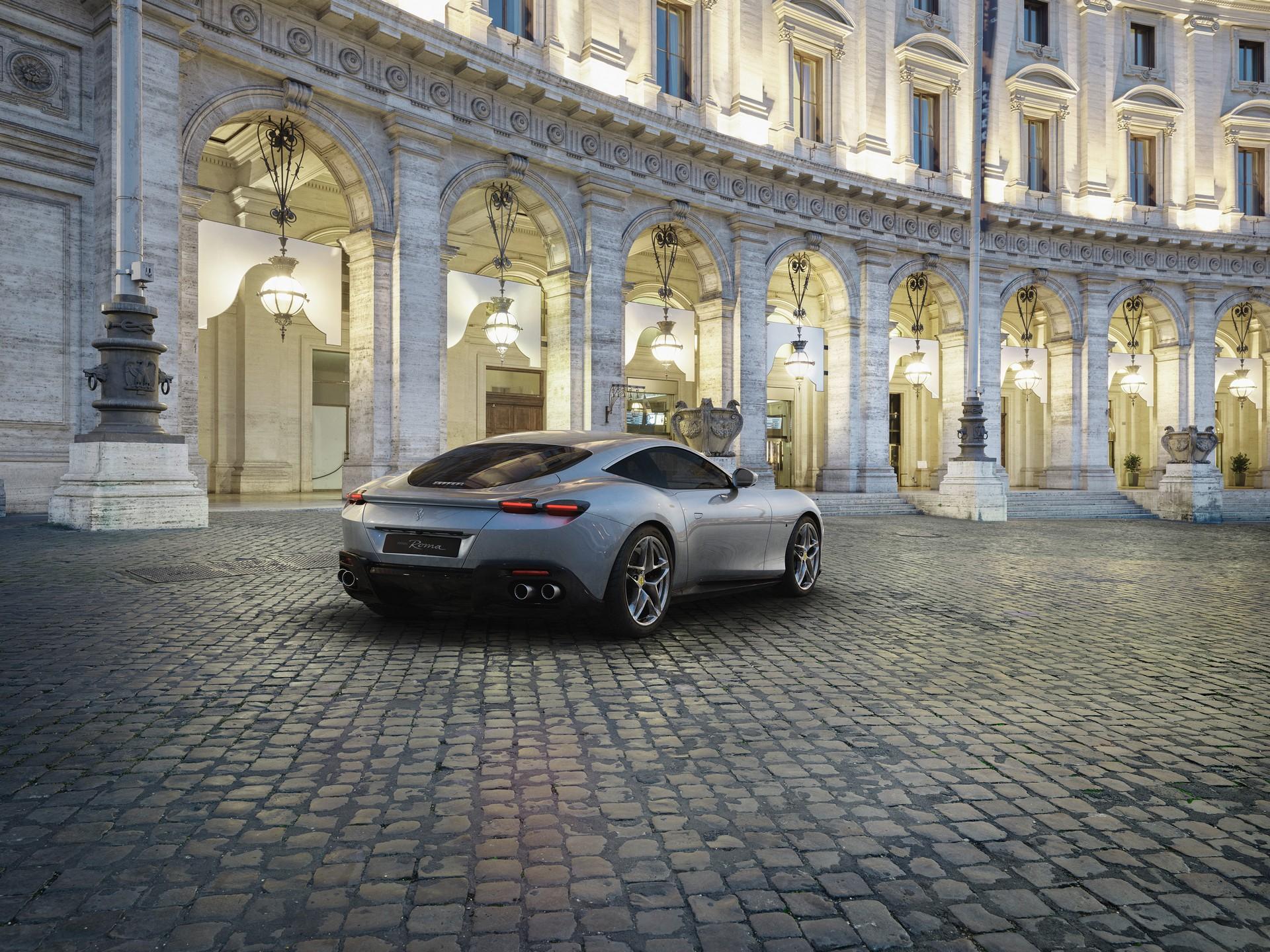 Ferrari công bố chi tiết siêu xe Grand Tourer Roma 612 HP mới - 5