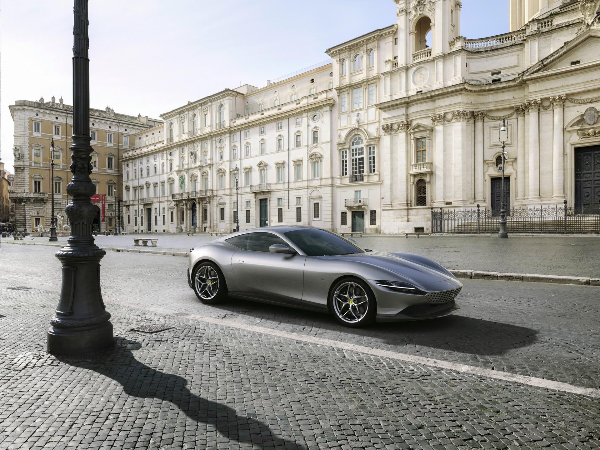 Ferrari công bố chi tiết siêu xe Grand Tourer Roma 612 HP mới - 6