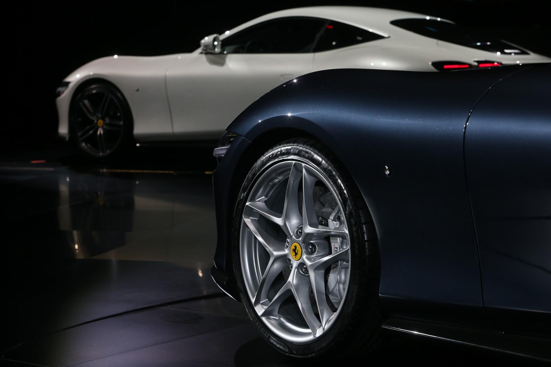 Ferrari công bố chi tiết siêu xe Grand Tourer Roma 612 HP mới - 8