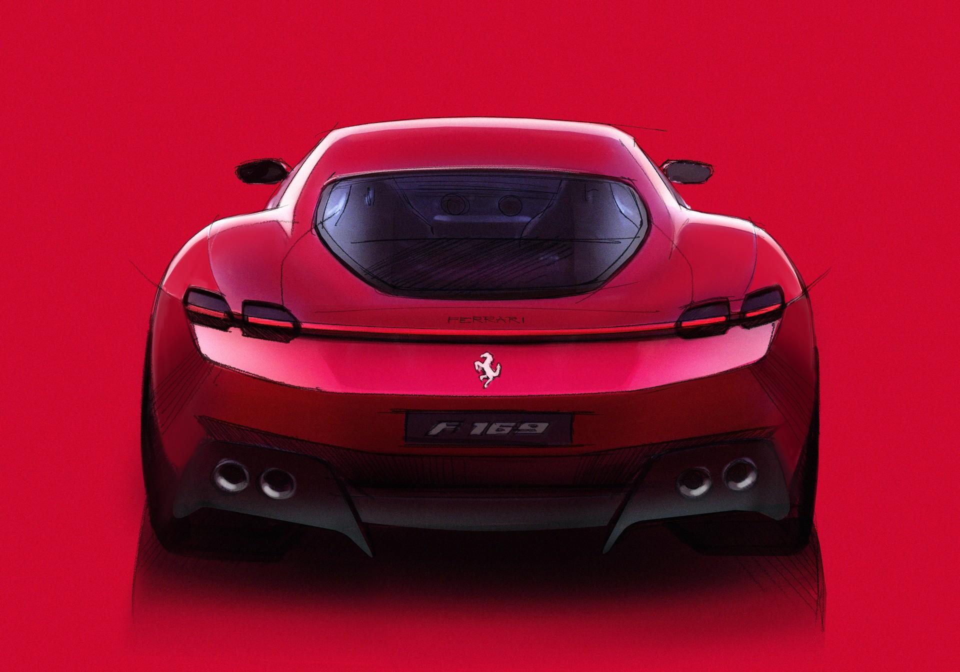 Ferrari công bố chi tiết siêu xe Grand Tourer Roma 612 HP mới - 9