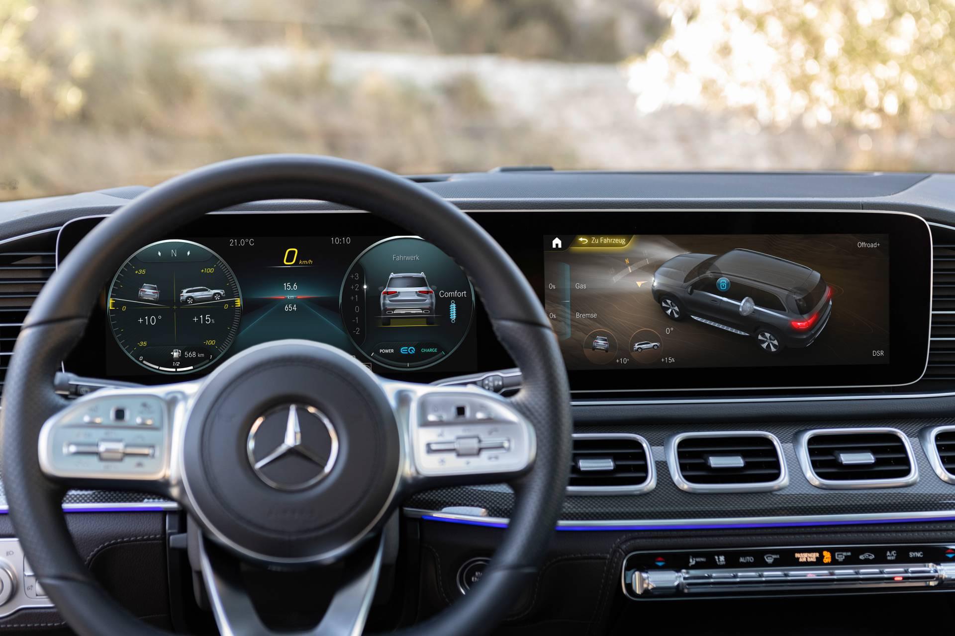 Mercedes-Benz giới thiệu 10 tính năng công nghệ hàng đầu trong năm 2019 - 2