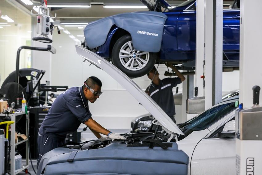 gói chăm sóc ngoại thất xe BMW và MINI
