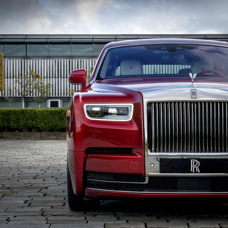 Rolls-Royce Phantom đỏ