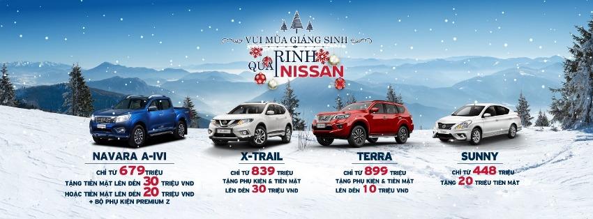 Bảng giá xe Nissan tháng 12-2019