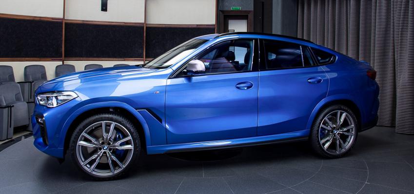 BMW X6 M50i phiên bản Riverside Blue - 15