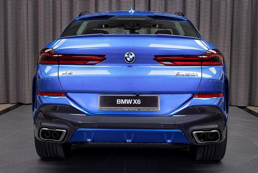 BMW X6 M50i phiên bản Riverside Blue - 19