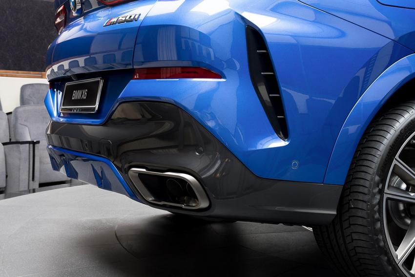 BMW X6 M50i phiên bản Riverside Blue - 02