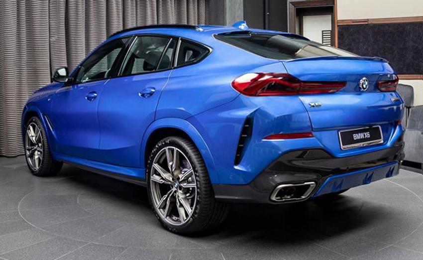 BMW X6 M50i phiên bản Riverside Blue - 20