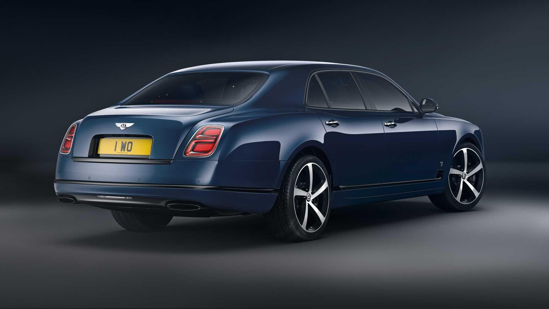 Bentley Mulsanne 6.75 Edition, mạnh 530 mã lực, phiên bản giới hạn 50 chiếc - 2