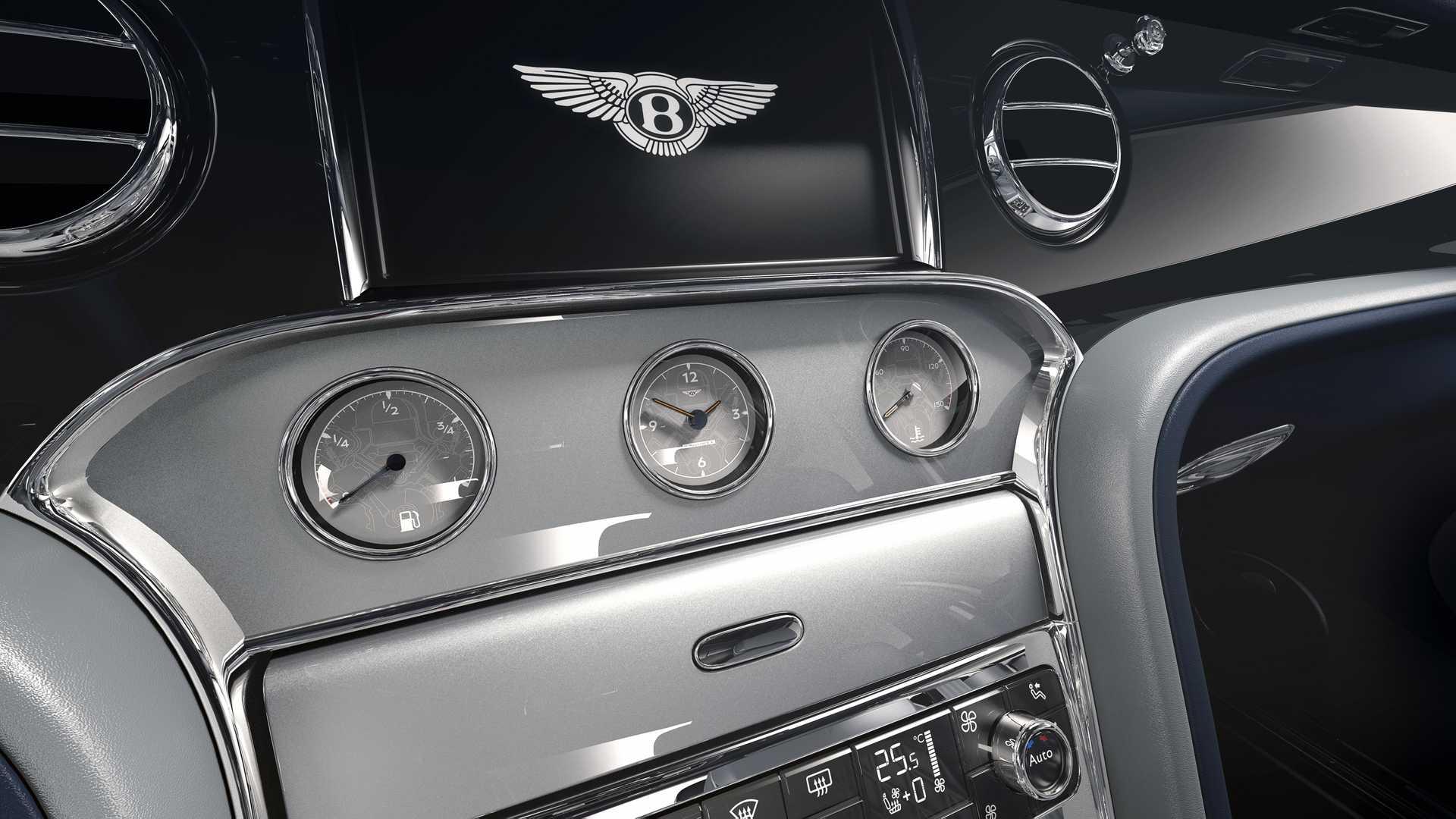 Bentley Mulsanne 6.75 Edition, mạnh 530 mã lực, phiên bản giới hạn 50 chiếc - 8