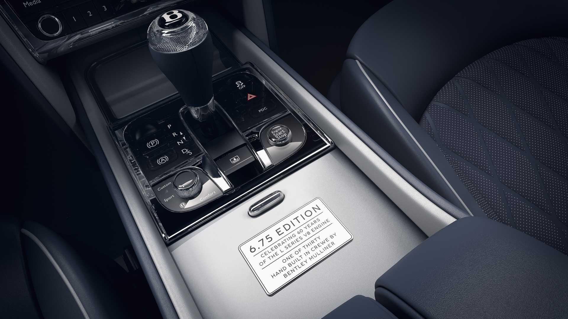 Bentley Mulsanne 6.75 Edition, mạnh 530 mã lực, phiên bản giới hạn 50 chiếc - 9