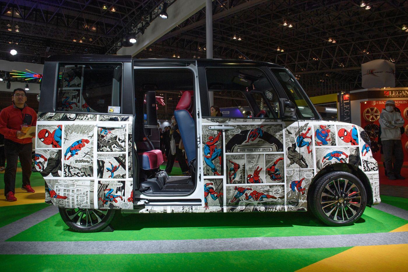 Hàng trăm mẫu xe độc đáo ra mắt tại triển lãm Tokyo Auto Salon 2020 - 11