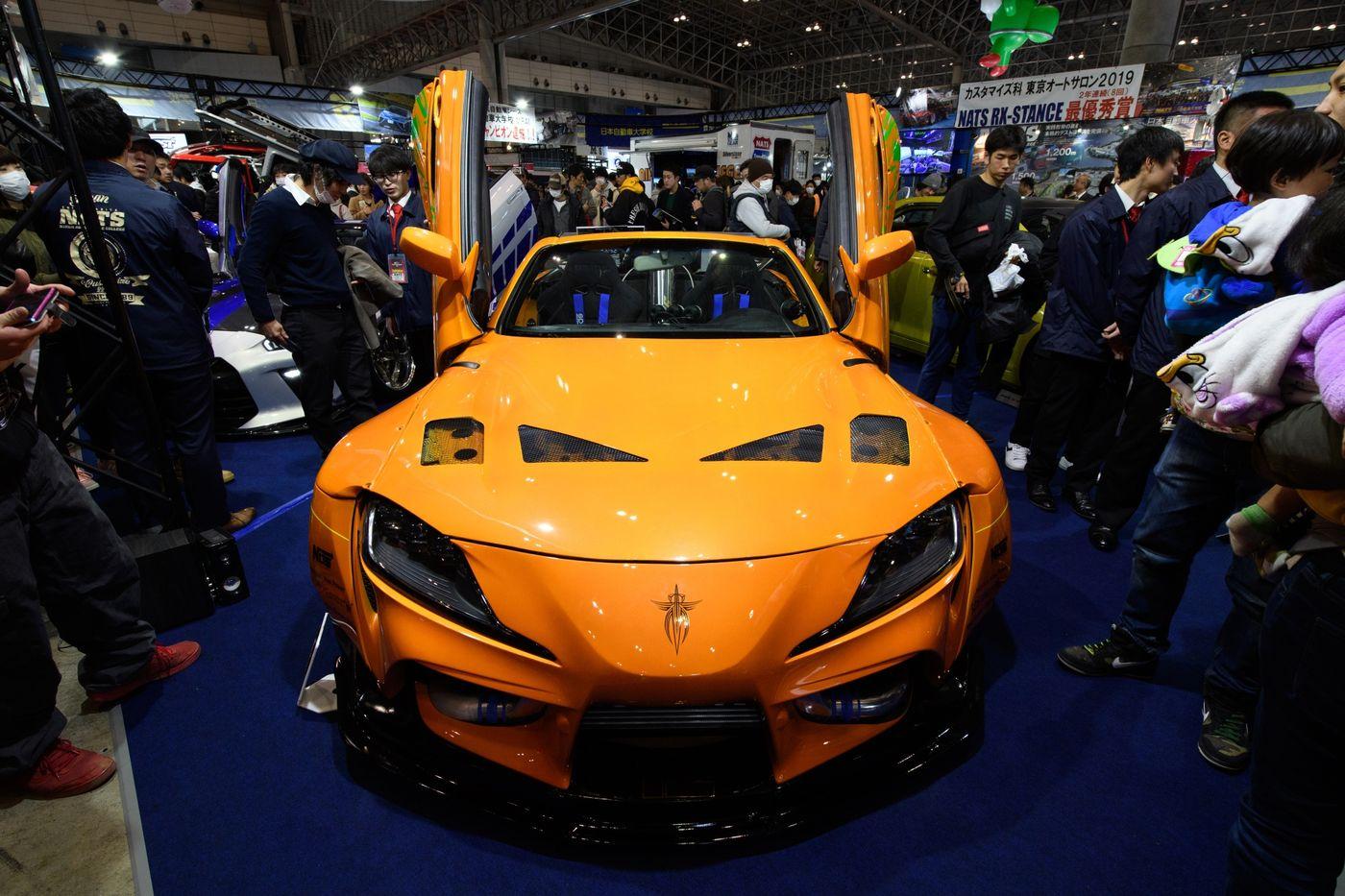 Hàng trăm mẫu xe độc đáo ra mắt tại triển lãm Tokyo Auto Salon 2020 - 14