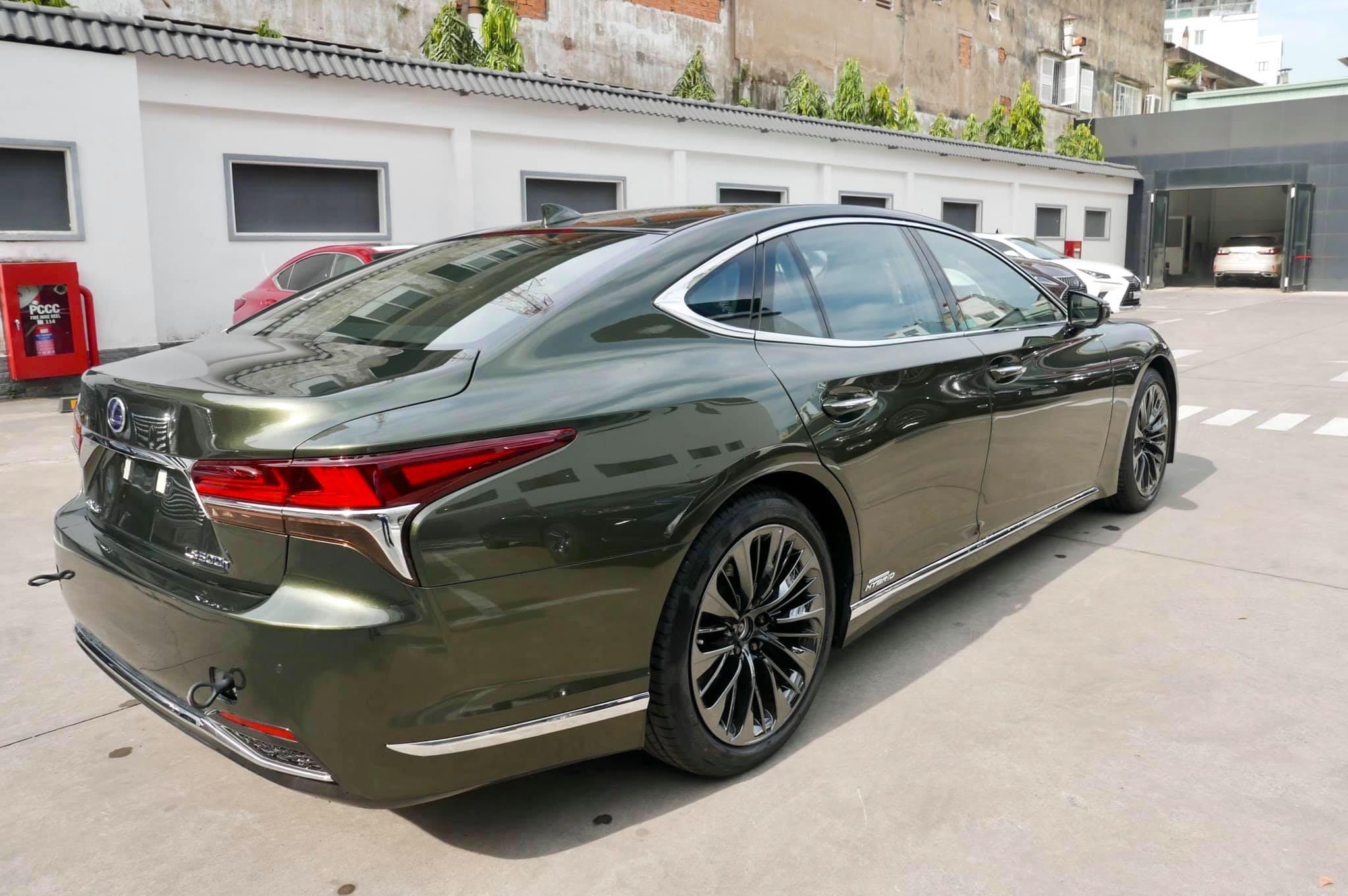 Lexus LS500h, giá 7,83 tỉ đồng tại Việt Nam - 2