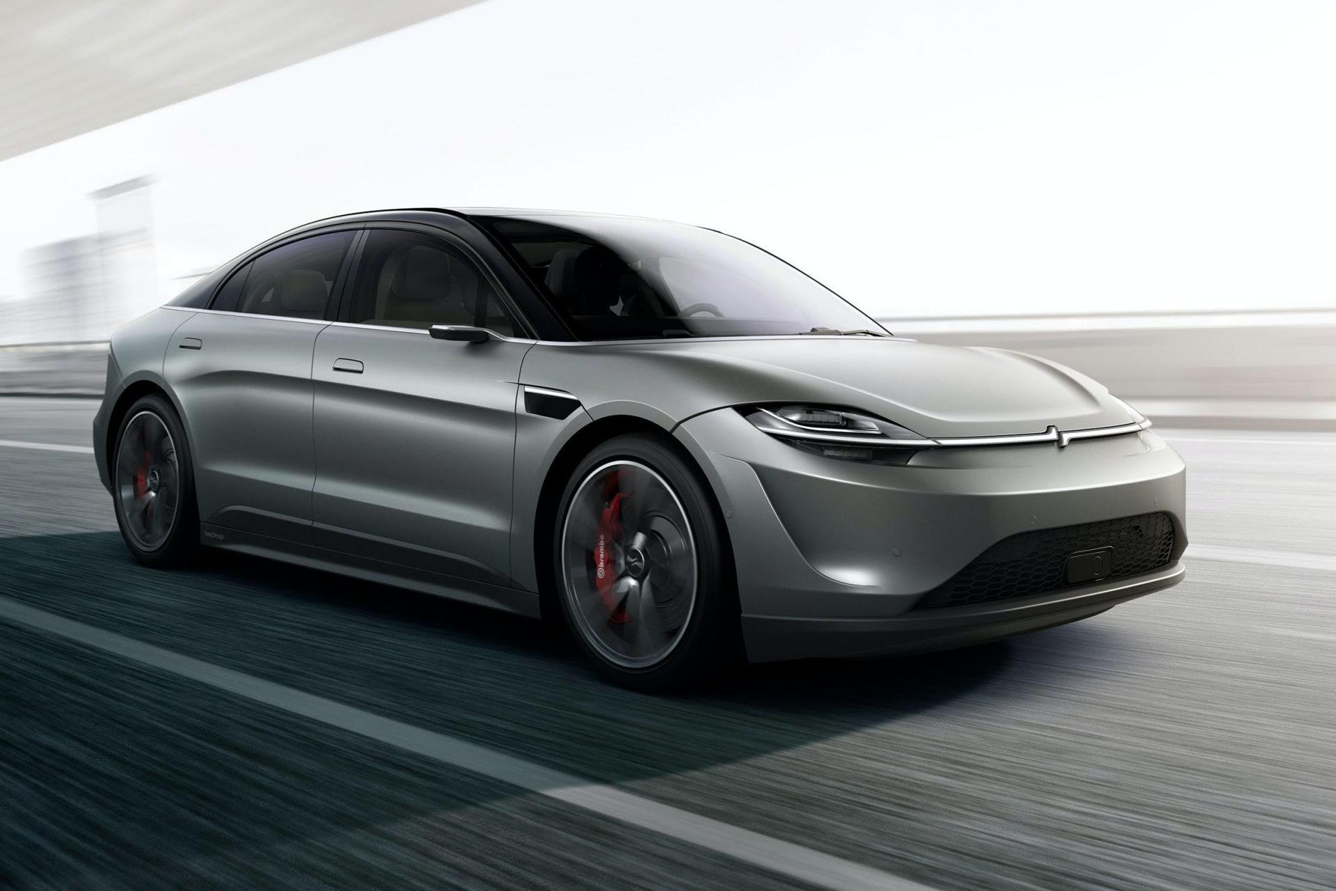 Sony bất ngờ ra mắt mẫu xe điện Vision-S tại CES 2020 - 1