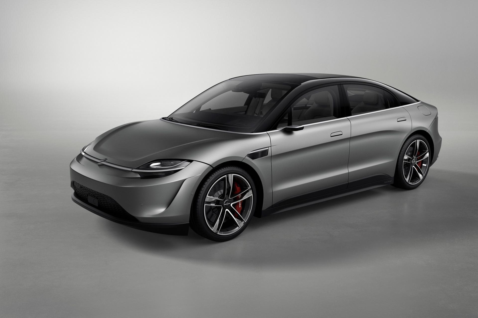 Sony bất ngờ ra mắt mẫu xe điện Vision-S tại CES 2020 - 2