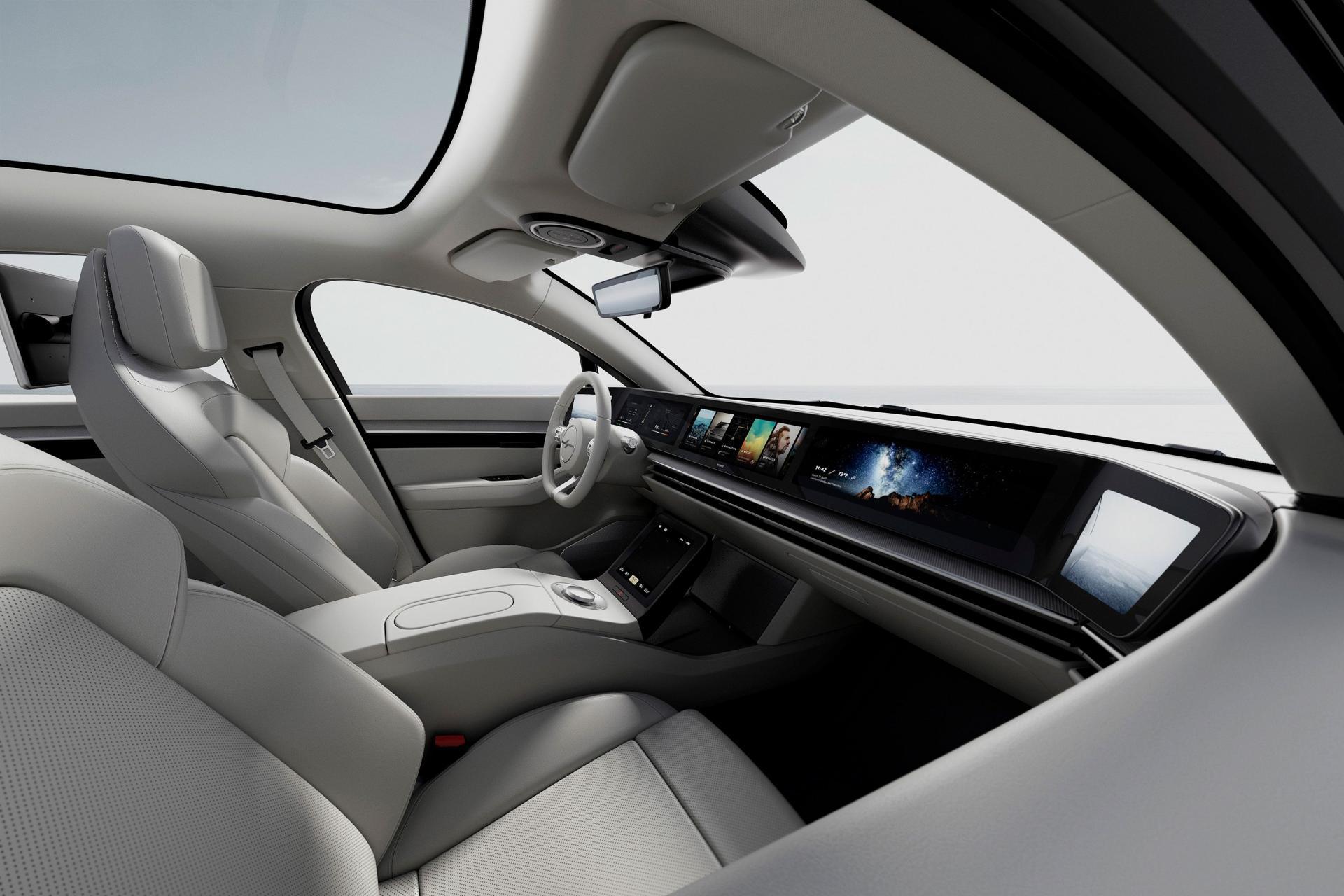 Sony bất ngờ ra mắt mẫu xe điện Vision-S tại CES 2020 - 9