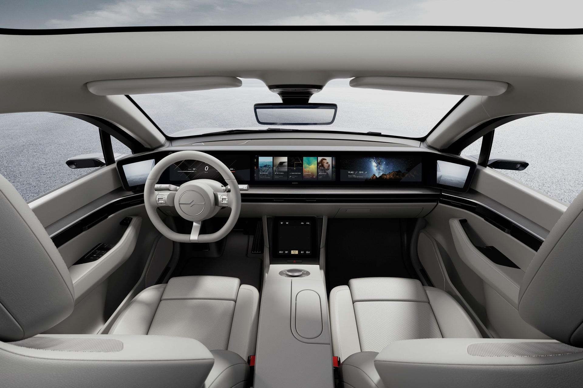 Sony bất ngờ ra mắt mẫu xe điện Vision-S tại CES 2020 - 11