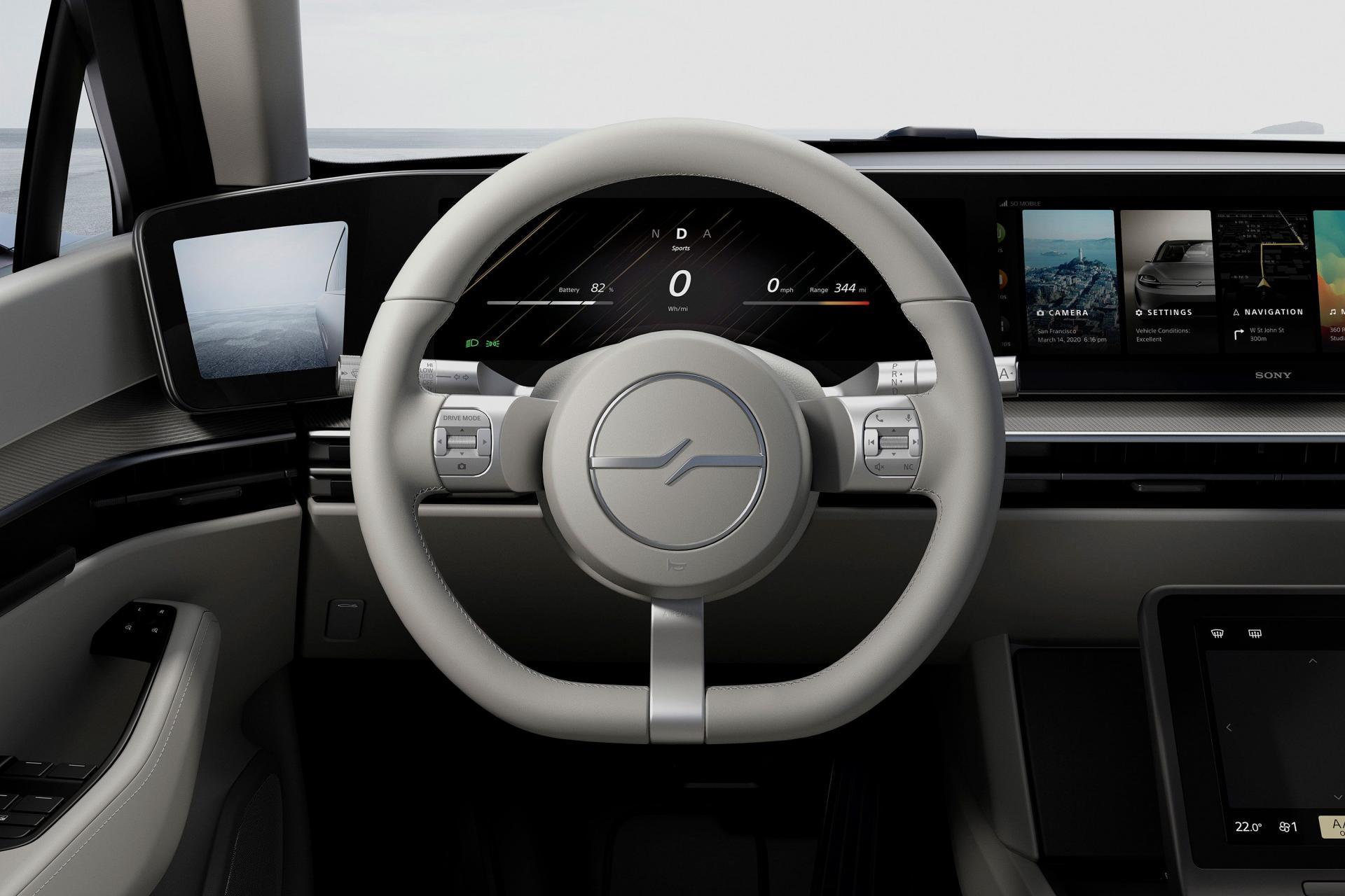 Sony bất ngờ ra mắt mẫu xe điện Vision-S tại CES 2020 - 12