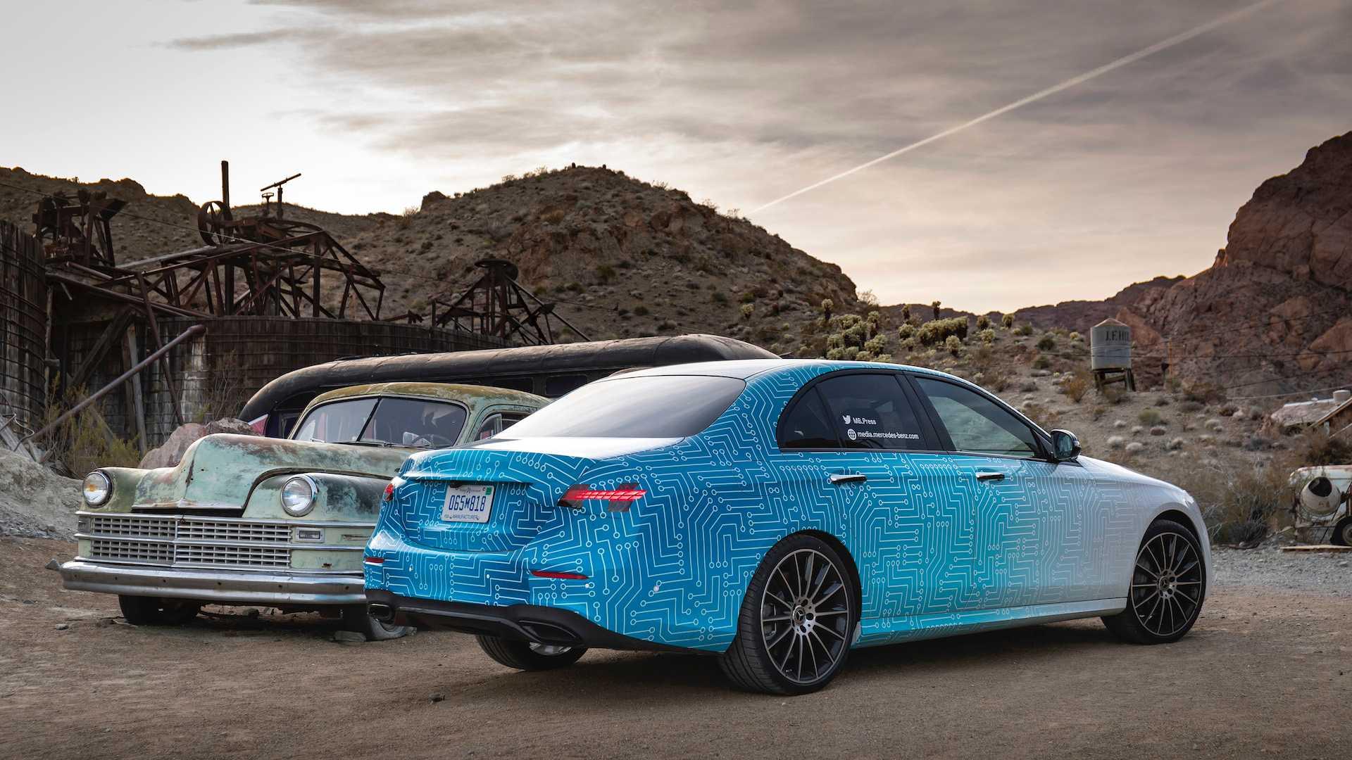 Hé lộ hình ảnh Mercedes-Benz E-Class facelift, thiết kế và động cơ mới - 07