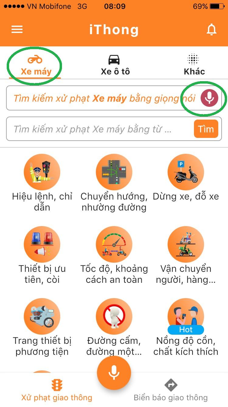 iThong – App tra cứu mức phạt giao thông bằng giọng nói - 2