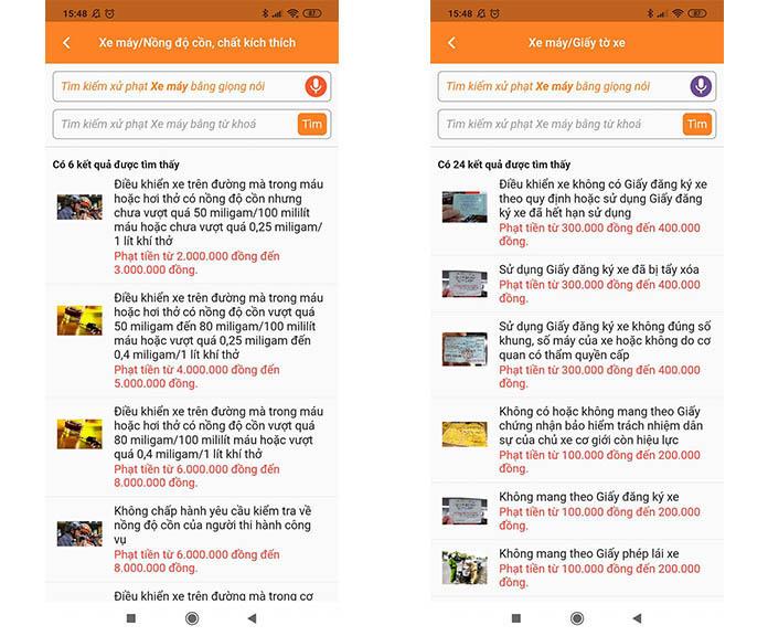 iThong – App tra cứu mức phạt giao thông bằng giọng nói - 3