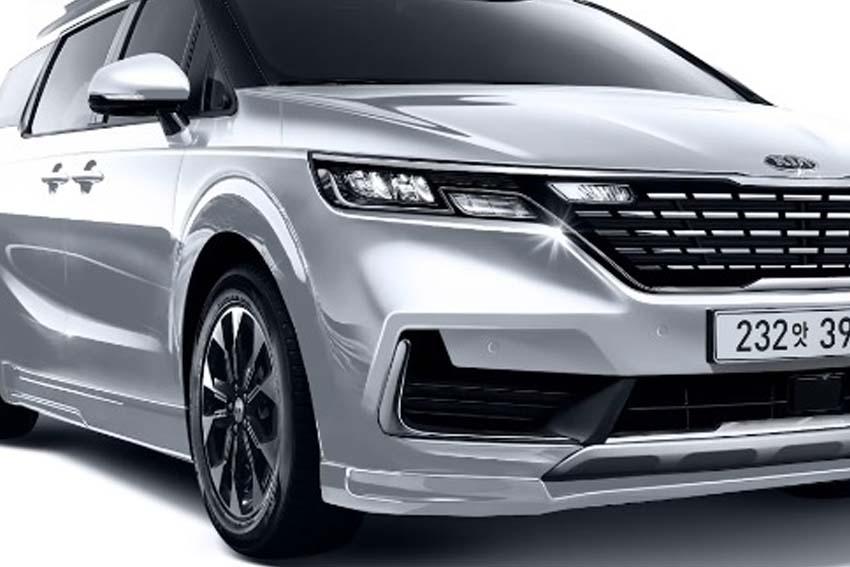 Lộ diện thiết kế Kia Sedona thế hệ mới, 'tuyên chiến' Toyota Sienna - 2