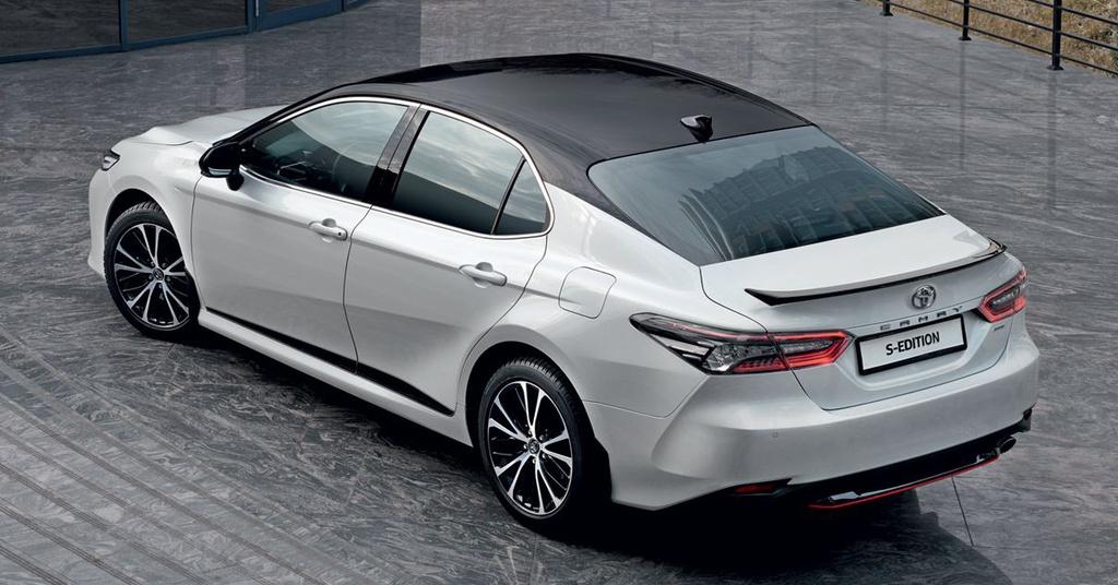 Toyota Camry S-Edition phiên bản thể thao hấp dẫn giới trẻ = 6