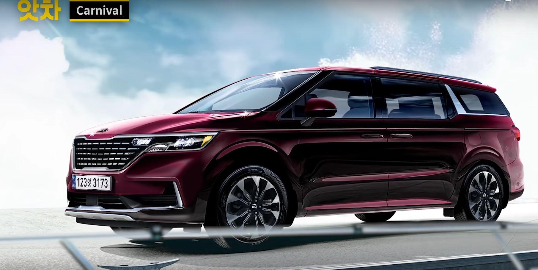 Lộ diện thiết kế Kia Sedona thế hệ mới, 'tuyên chiến' Toyota Sienna - 3