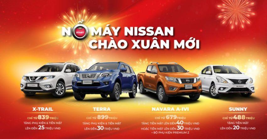 Bảng giá xe Nissan tháng 2-2020