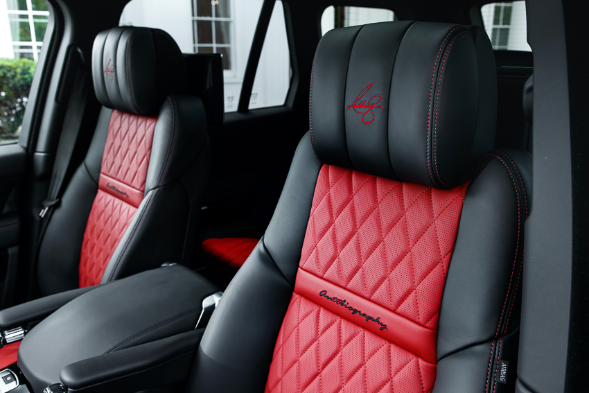 Range Rover SVAutobiography sản xuất dành riêng cho nhà vô địch quyền anh hạng nặng thế giới - 05