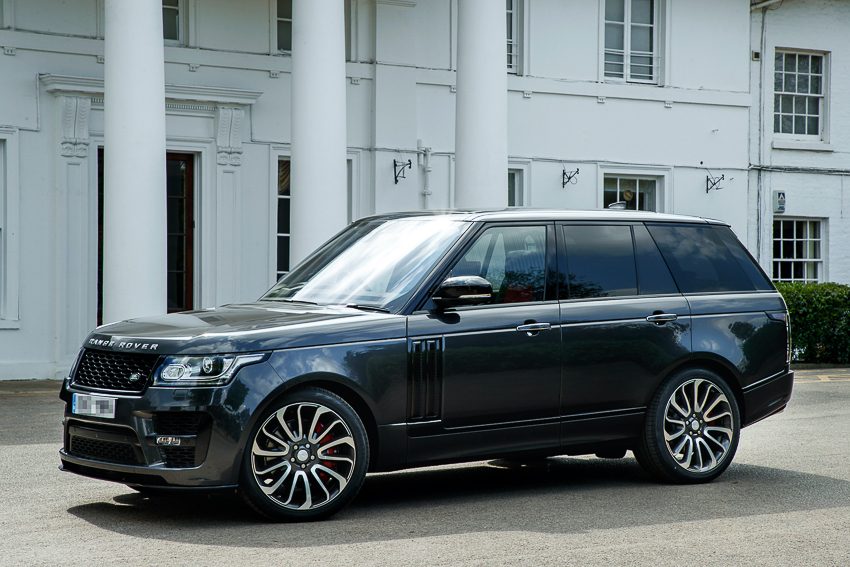 Range Rover SVAutobiography sản xuất dành riêng cho nhà vô địch quyền anh hạng nặng thế giới - 06