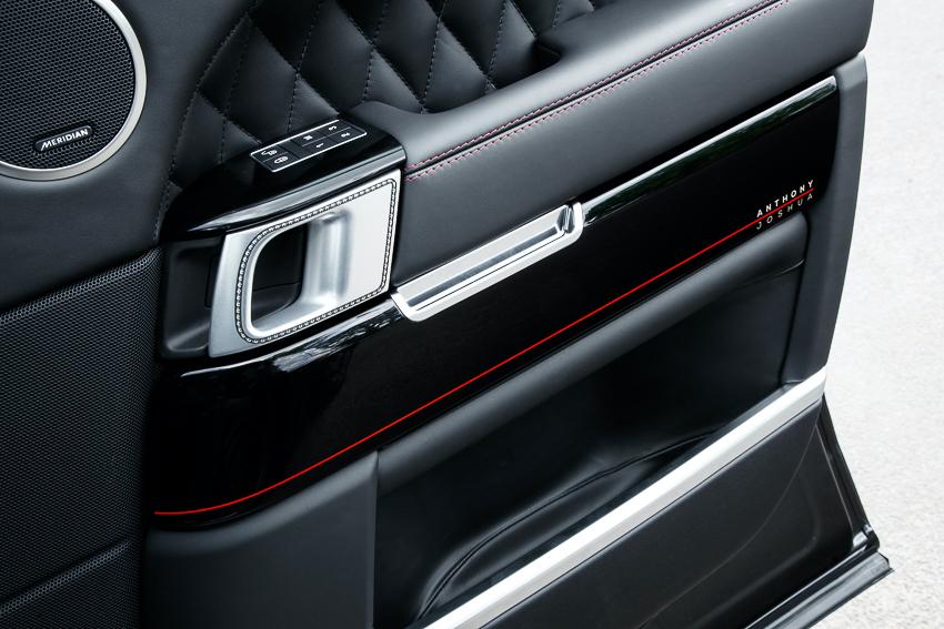 Range Rover SVAutobiography sản xuất dành riêng cho nhà vô địch quyền anh hạng nặng thế giới - 08