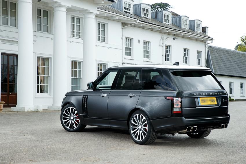 Range Rover SVAutobiography sản xuất dành riêng cho nhà vô địch quyền anh hạng nặng thế giới - 09