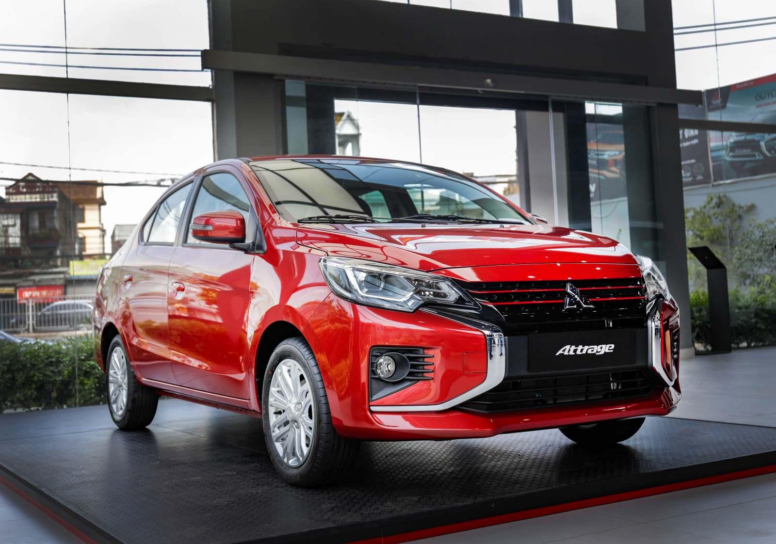 Mitsubishi Attrage 2020 ra mắt tại VN, giá từ 375 triệu