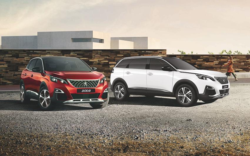 Bộ đôi SUV Peugeot 3008 & 5008 có thêm phiên bản mới - 1