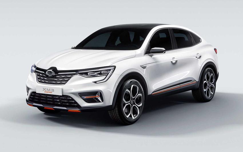 Ngắm xe sang bình dân Renault Samsung ra mắt chiếc SUV XM3 - 2