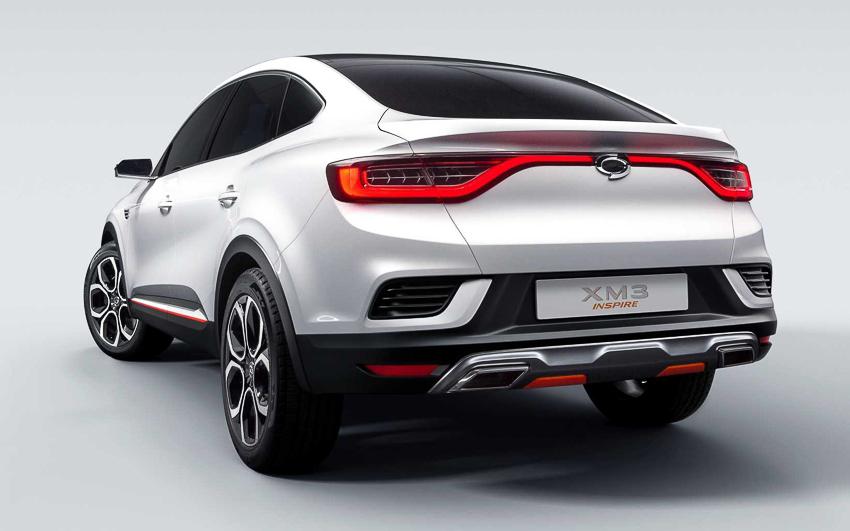 Ngắm xe sang bình dân Renault Samsung ra mắt chiếc SUV XM3 - 1