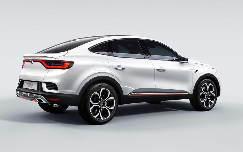 Ngắm xe sang bình dân Renault Samsung ra mắt chiếc SUV XM3 - 4
