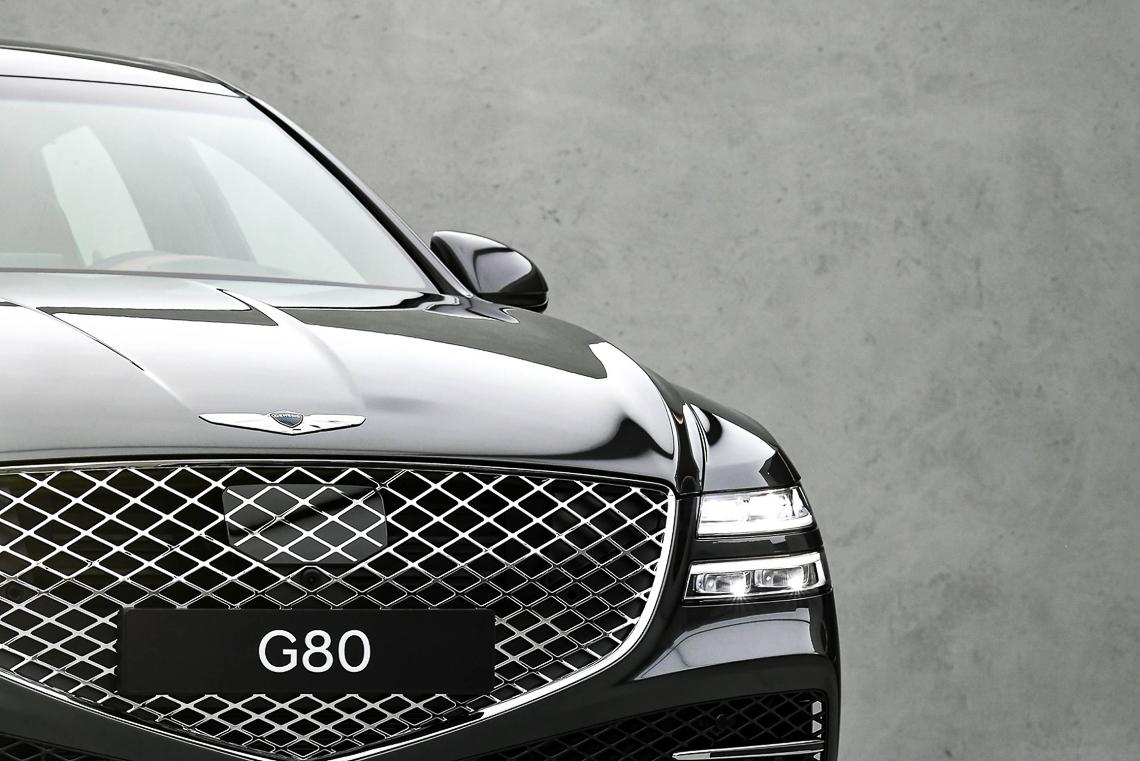 Sedan hạng sang Genesis G80 2021 chính thức trình làng - 18