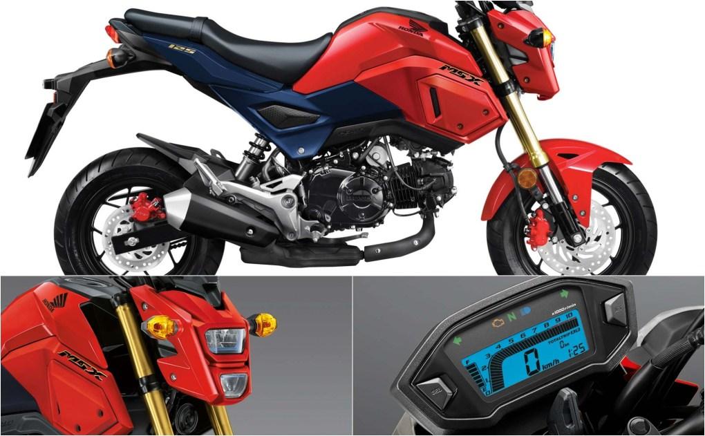 Chi tiết Honda MSX 125cc phiên bản mới ra mắt, gần 50 triệu tại Việt Nam