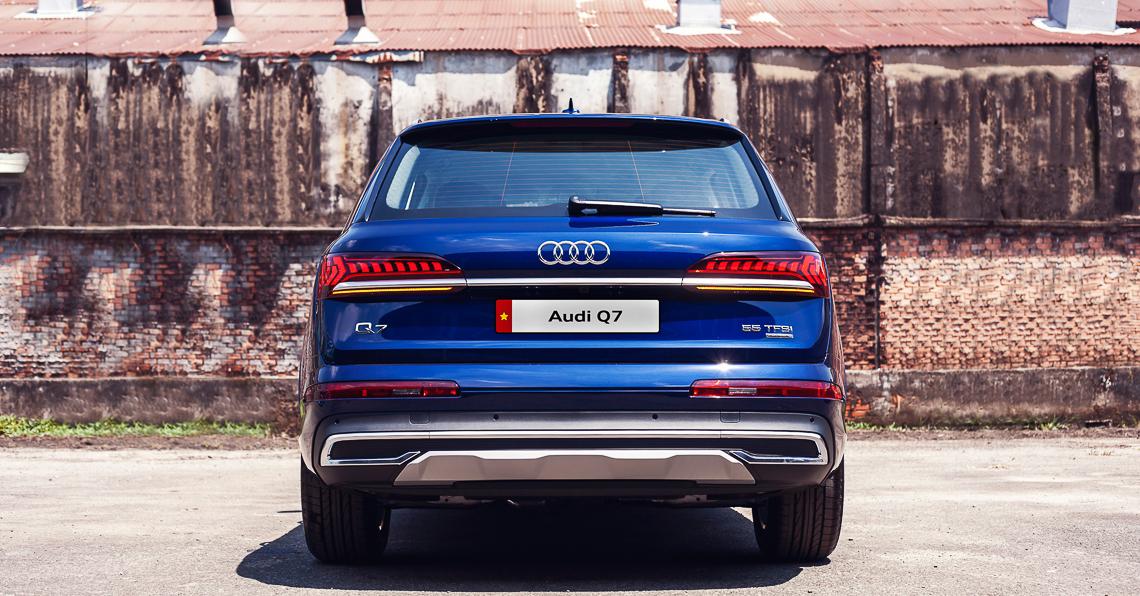 Hình ảnh chi tiết Audi Q7 2020 ra mắt tại Việt Nam, cạnh tranh BMW X5 và Mercedes GLE - 9